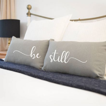 Be Still Pair Of Cushions